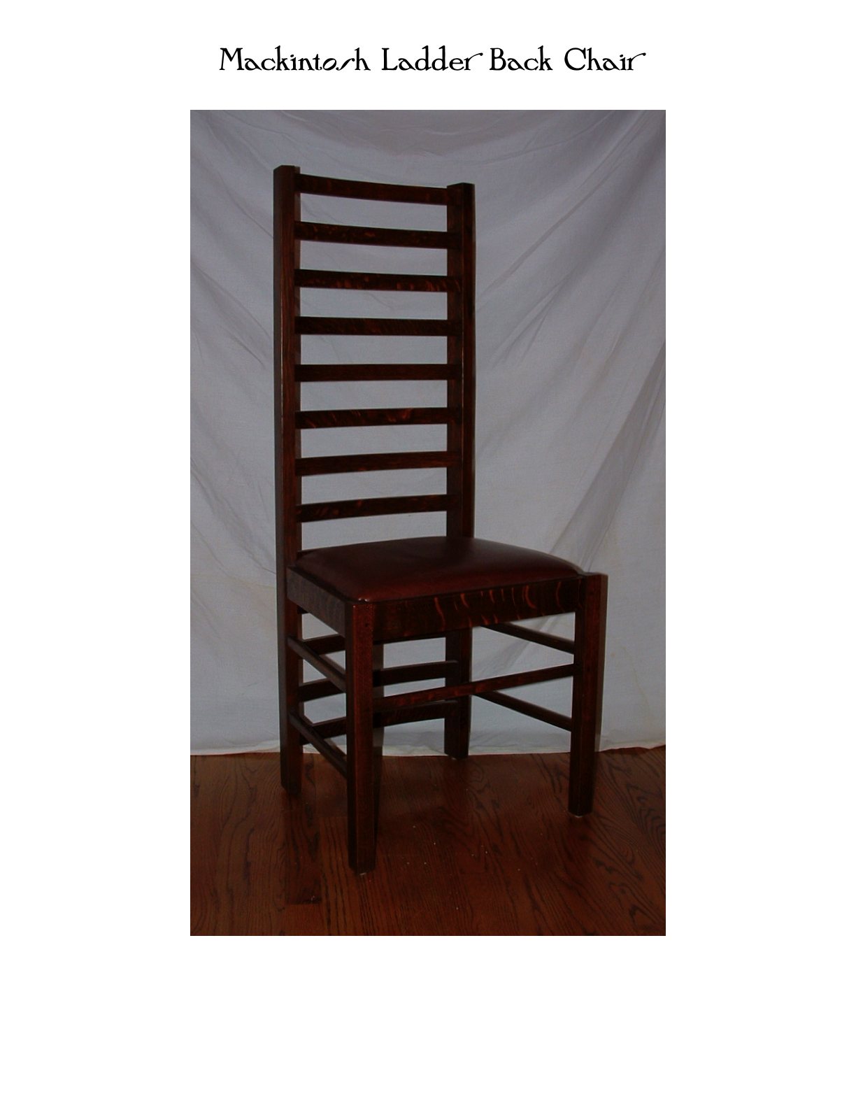 Mackintosh Ladder Back Chair
