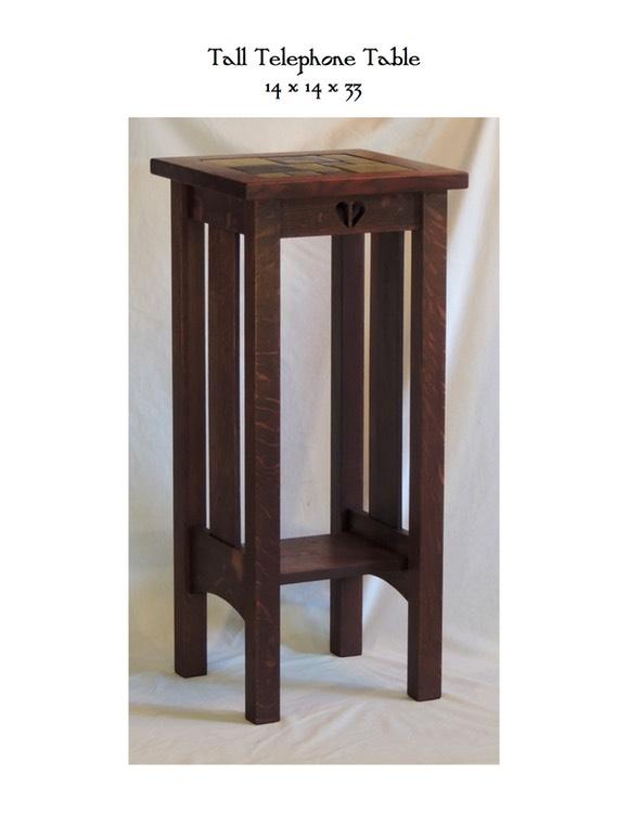 Tall Telephone Table